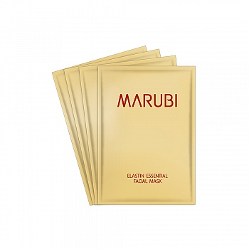 丸美(MARUBI)弹力蛋白精华面贴膜(4片每盒)