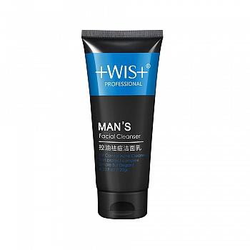 中国•WIS男士控油祛痘洁面乳120g
