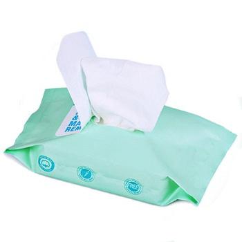 温和卸妆巾棉湿巾 20片装