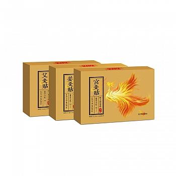 中国•足季 灸贴套装(艾灸贴+姜灸贴+宫灸贴)5袋*3
