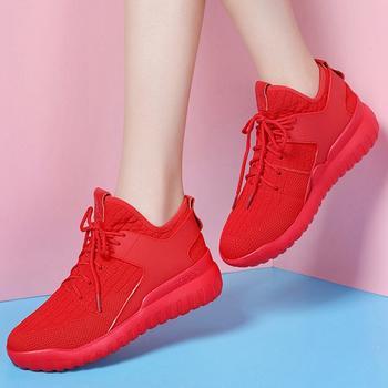 ?#39184;飞?#21475;低帮时尚系带平底休闲鞋