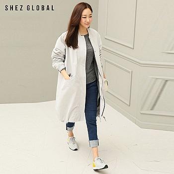 中国•韩版SZ可拆卸式休闲抽绳夹克外套
