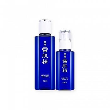 日本•雪肌精雪靓白皙两件组(化妆水 180ml+乳液130ml)