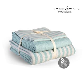 中国•聚美优选日式全棉针织四件套