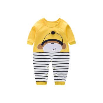 Cipango 卡通小猴子婴儿外出衣服