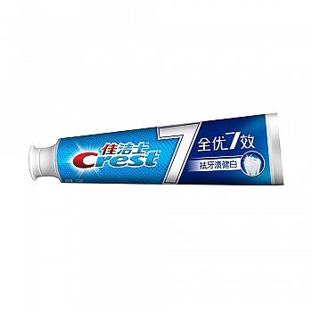 美国•佳洁士全优7效 祛牙渍健白 牙膏 120克