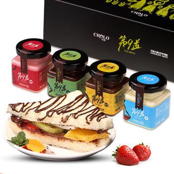 巧罗巧克力酱4口味礼盒装