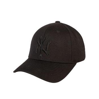 MLB棒球帽夏季黑色(封口)帽01