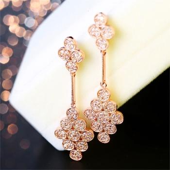 中国•E·weil925古典的魅惑耳环