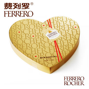 费列罗榛果威化巧克力礼盒27粒