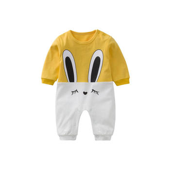 Cipango小兔子可爱婴儿哈衣外出服