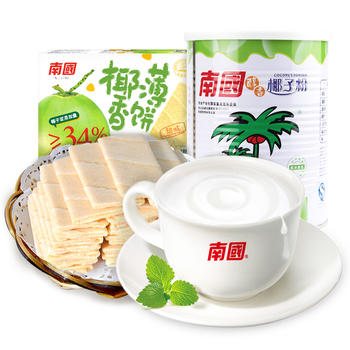 南国醇香椰子粉薄饼早餐组合610g