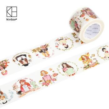 Kinbor繁花夏满和纸胶带