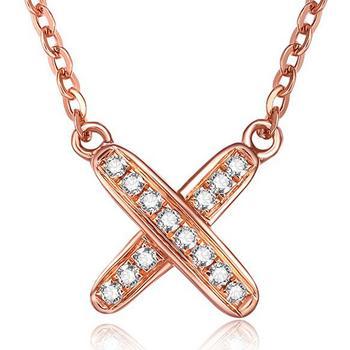 今上珠宝 18K金钻石吊坠项链定制