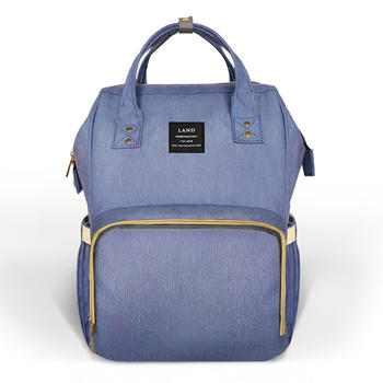 兰多 升级版双肩包 蓝紫色-1