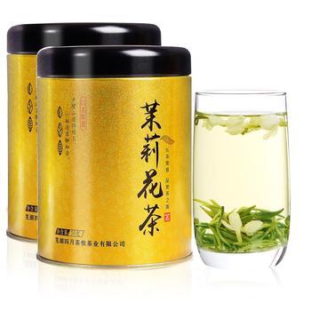 四月茶侬 茉莉花茶 绿茶50gx2罐