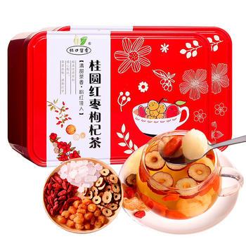杯口留香桂圆红枣枸杞茶 130g×2盒