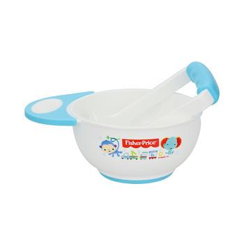 美国•费雪婴儿食物手动研磨碗蓝色