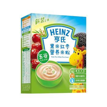 亨氏黑米红枣米粉225g