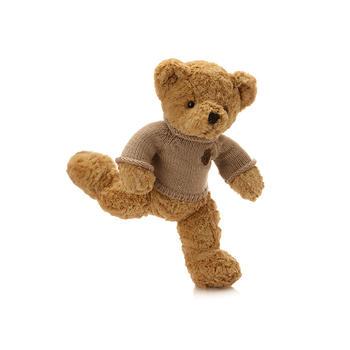 经典脚印毛衣熊毛绒玩具可爱抱抱熊公仔儿童礼物1.2米