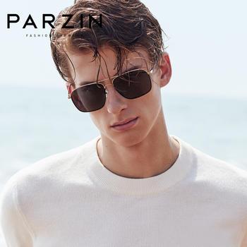 帕森偏光太阳镜 男士金属镜框司机开车驾驶镜潮墨镜