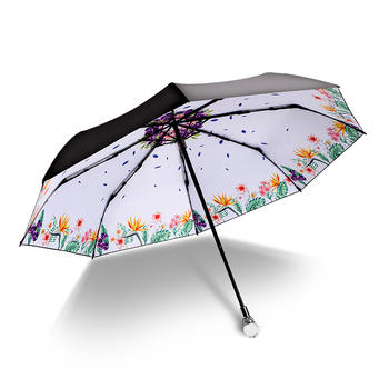 德国iRain热带花语防晒晴雨伞