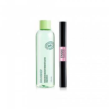 中国•绿豆卸妆水 420ml(加送纤长浓密卷翘双头睫毛膏)