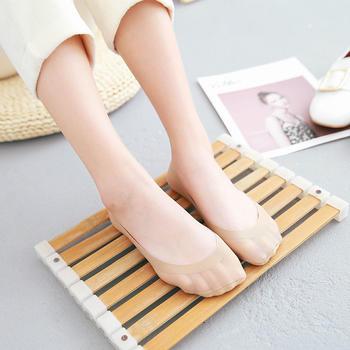 赛棉 6双冰丝无痕防滑隐形女船袜