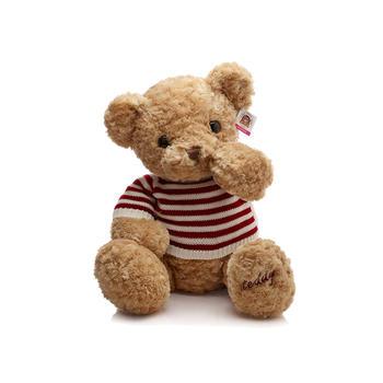 柏文熊美国毛衣泰迪熊毛绒玩具公仔女生抱抱熊玩偶