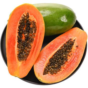 乐知果红心木瓜8斤新鲜水果