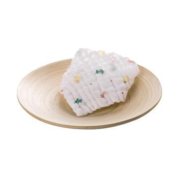 澳斯贝贝 婴儿纱布三角口水巾3条