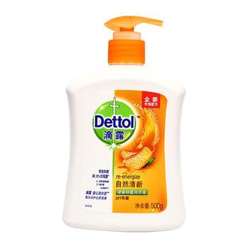 滴露 洗手液自然清新500g