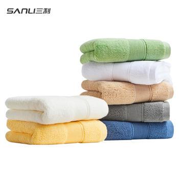 三利毛巾北欧风情面巾精梳棉系列