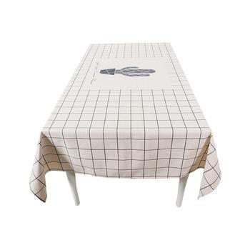 现代餐桌布艺圆桌布茶几布