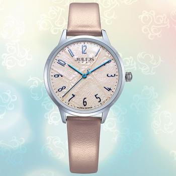 中国•聚利时新款时尚皮带手表女石英表