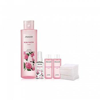 梦妆(mamonde) 蔷薇舒缓润肤水 250ml 5件套组