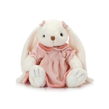 柏文熊可爱裙装兔毛绒公仔30cm