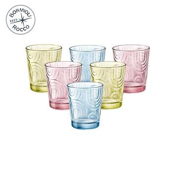 Bormioli Rocco 凯旋玻璃水杯 6只装