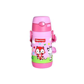 费雪全阶段保温学饮杯套装粉色
