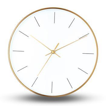 柏斐家饰 台湾进口 金属钟表