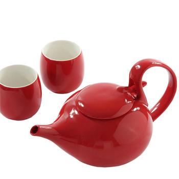 多样屋 如意茶具组/红色