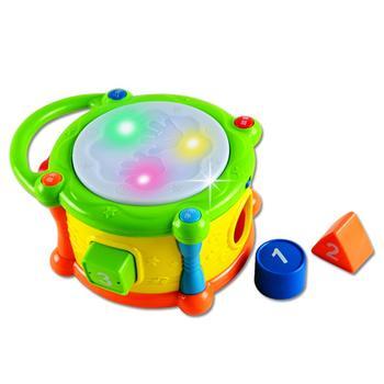 婴幼儿多功能早教益智手拍鼓儿童
