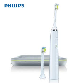 飞利浦白钻超声波电动牙刷HX9332
