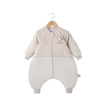 欧孕婴儿分腿睡袋秋冬纯棉防踢被