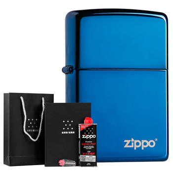之宝(zippo)20446ZL时尚蓝冰标志