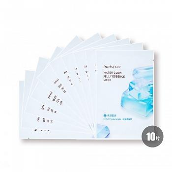 悦诗风吟(innisfree)水光果冻面膜 透明质酸钠 - 保湿盈润 10片装
