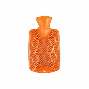 德国fashy小号时尚炫色3D纹热水袋赠外套