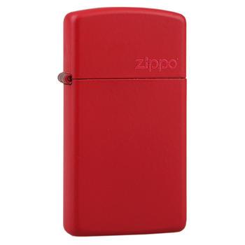 之宝(zippo)纤巧窄版哑漆商标