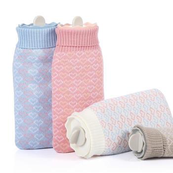 Ymer硅胶热水袋暖手宝多色可选
