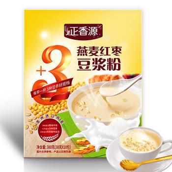 正香源 进口燕麦红枣豆浆粉380g/盒